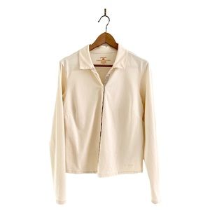Patagonia Lightweight Button Down Jacket Ivory